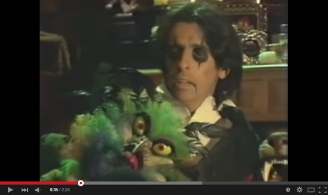Alice Cooper You And Me Ain No Movie Stars