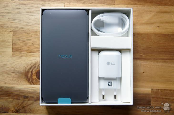 nexus, 5x, 넥서스5x, 개봉기, 패키지, 구성품
