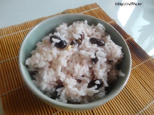 콩밥 짓는법