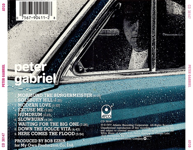 here comes the flood peter gabriel: