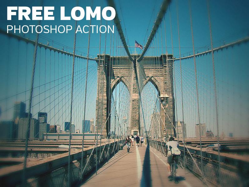 로모(lomo) 포토샵 액션 - Free Photoshop Lomo Action