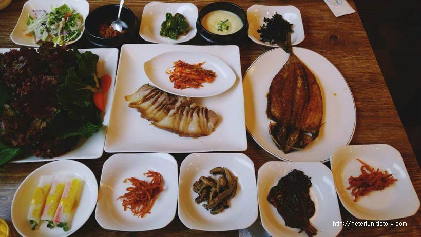 보리밥정식