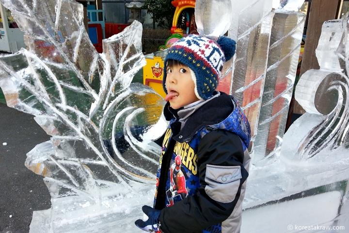부곡하와이얼음조각축제