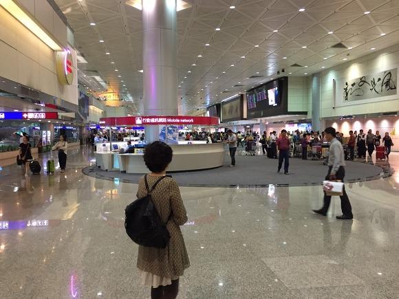 대만 타오위안 국제공항 라운지