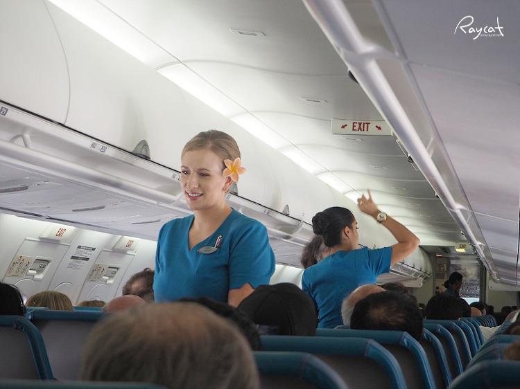 하와이언 항공 승무원