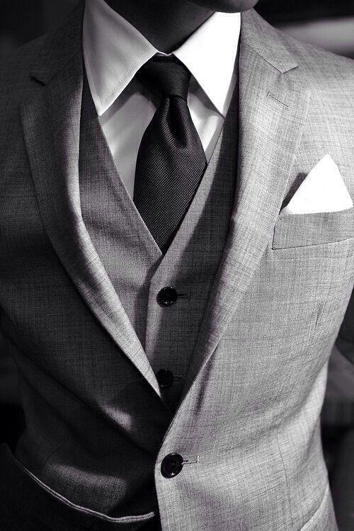 올 가을 남자들에게 추천하고픈 수트와 베스트, 타이 Dominant Man In Suit