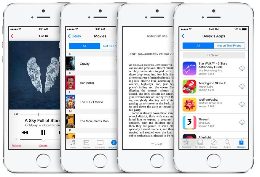 iOS8 가족 공유 Family Sharing