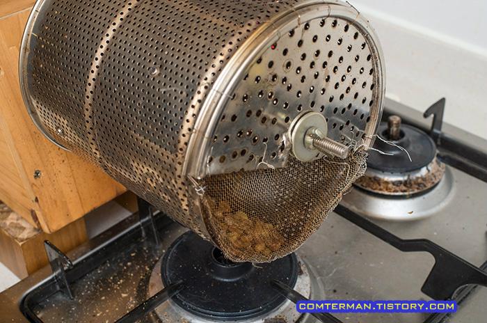 자작 로스터 통돌이 커피로스터