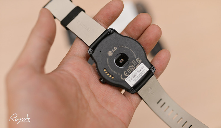 LG GWATCH R 심박계
