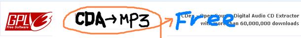 CDA 파일 MP3변환기 CDex