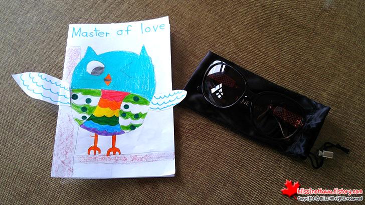 캐나다 어버이 날 딸의 선물 선글라스