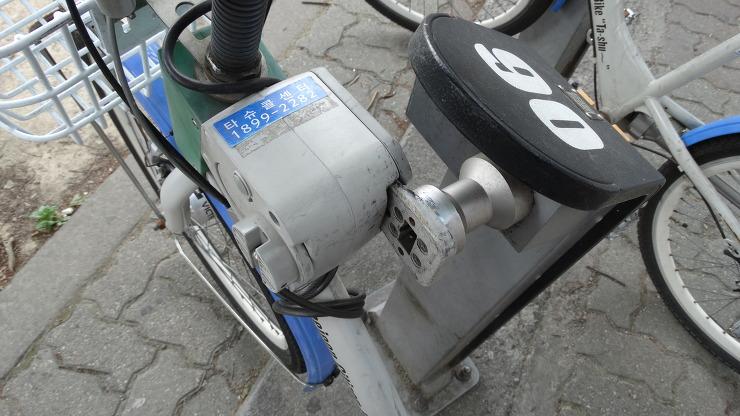 시민공용자전거 타슈 대여방법