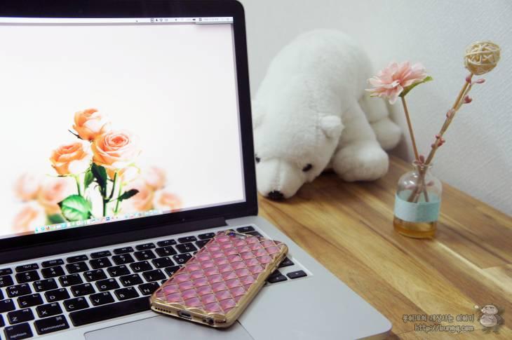 핑크핑크한 아이폰6s 케이스 호후 프리즘라스