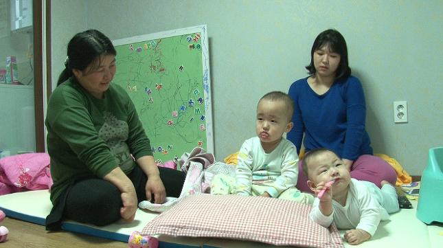 시어머니 함은주씨와 며느리 김인아씨의 자녀들