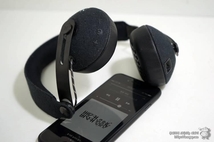 하우스오브말리, marley, 라이즈, bt, 블루투스, 헤드폰, 온이어, onear, bluetooth, headphone, review, 후기, 소리, 청음
