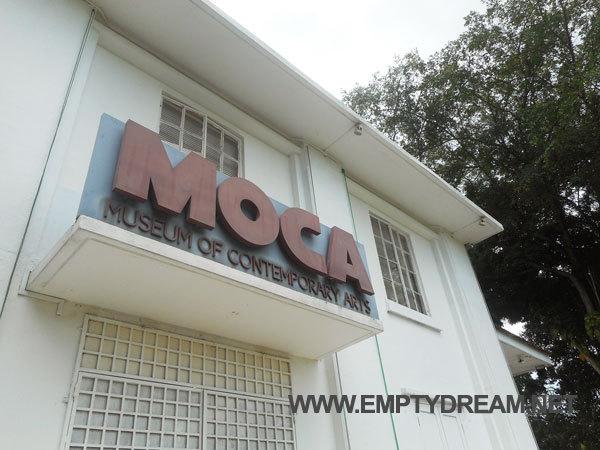 싱가포르 아트 테마 여행 - 뎀시힐 PS카페, MoCA