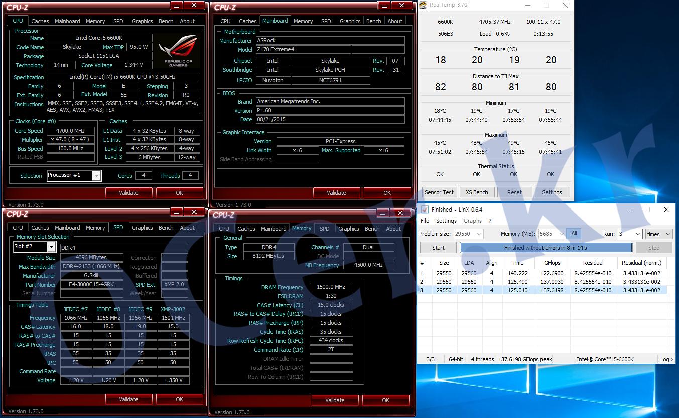 ASRock Z170 EXTREME 4, Intel, It, Mainboard, Motherboard, OverClocking, PC, Skylake, 리뷰, 마더보드, 메인보드, 스카이레이크, 애즈락, 오버클러킹, 오버클럭, 이슈, 인텔
