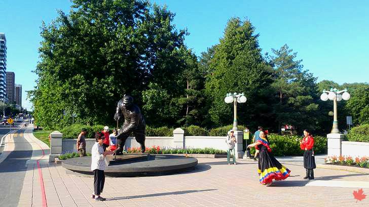 퀘벡 주 가티노 자크 카르띠에 공원입니다