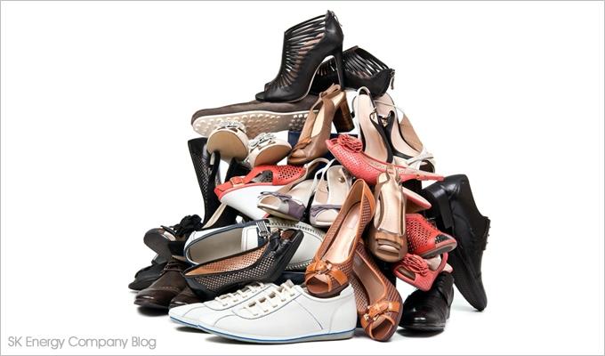 다양한 신발 이미지입니다.