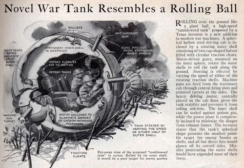 텀블위드 탱크 Tumbleweed Tank