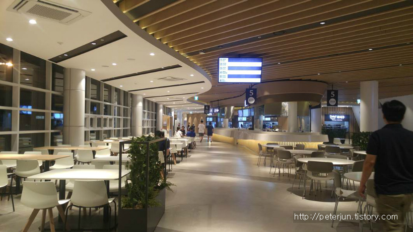 내린천휴게소 식당