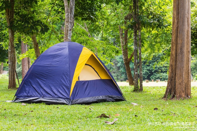 텐트의 기능 체크