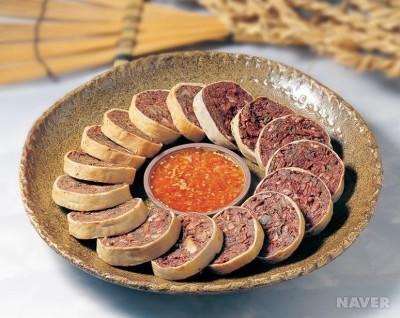 아바이순대(출처:음식백과)