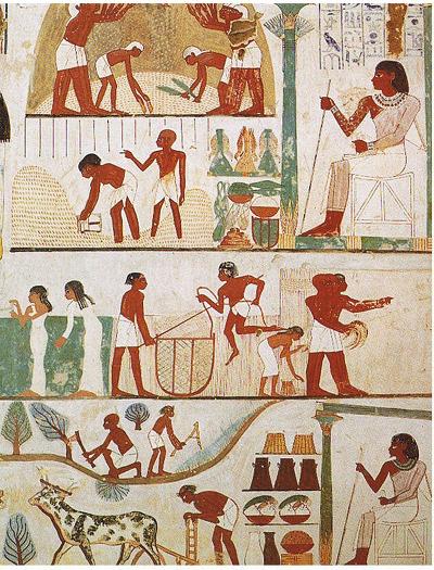 4. 고대 이집트 벽화