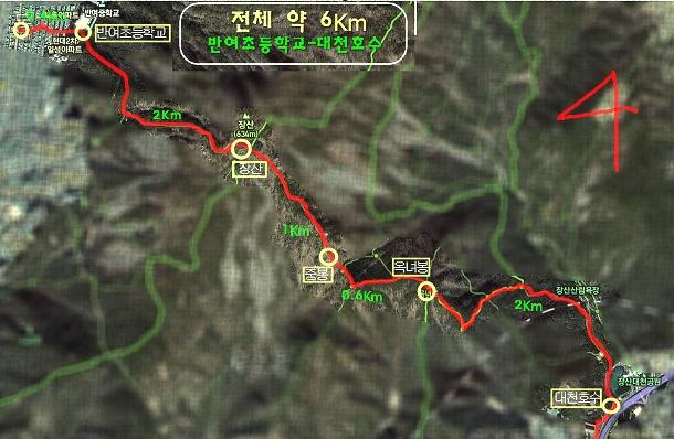 장산(萇山)등산로