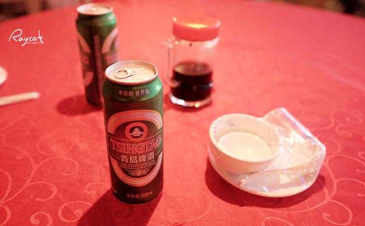원저우 해산물 시장 칭따오 맥주