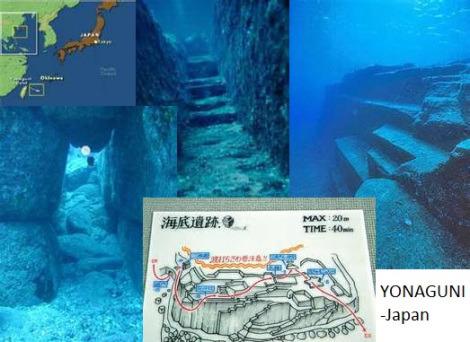 Yonaguni underwarter