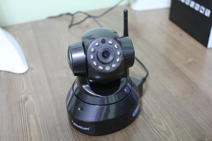 홈CCTV IP카메라 VSTARCAM-100E 사용후기 홈 모니터링 녹화 움직임감지 양방향 음성대화 야간감시