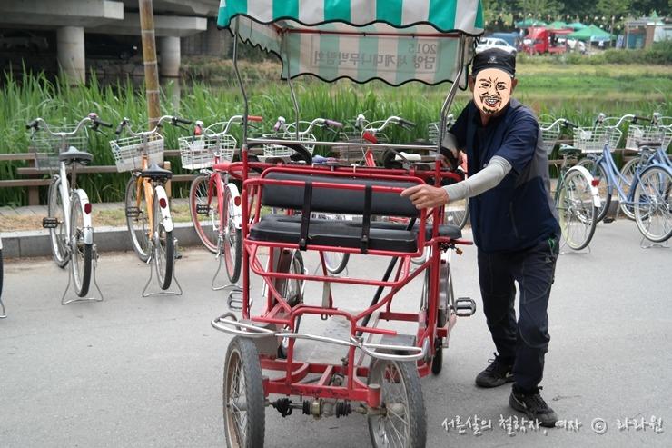 담양 메타세콰이아길 가는길, 관방제림 자전거, 죽녹원 자전거,