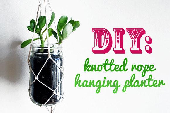 슬로워크 블로그 재활용을 이용한 Diy 화분걸이 만들기