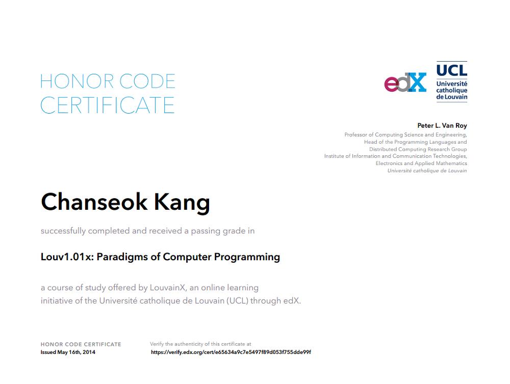 Online Certification Online Computer Programming Certificate