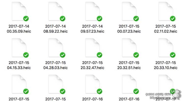ios11, heic, 설정, 포맷, 고효율, 변경