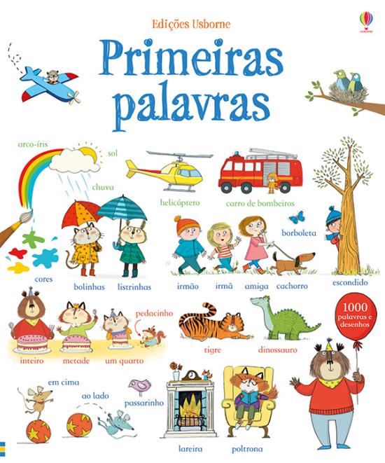 [포르투갈어 책] Primeiras Palavras - 미취학 아동을 위한 그림 사전