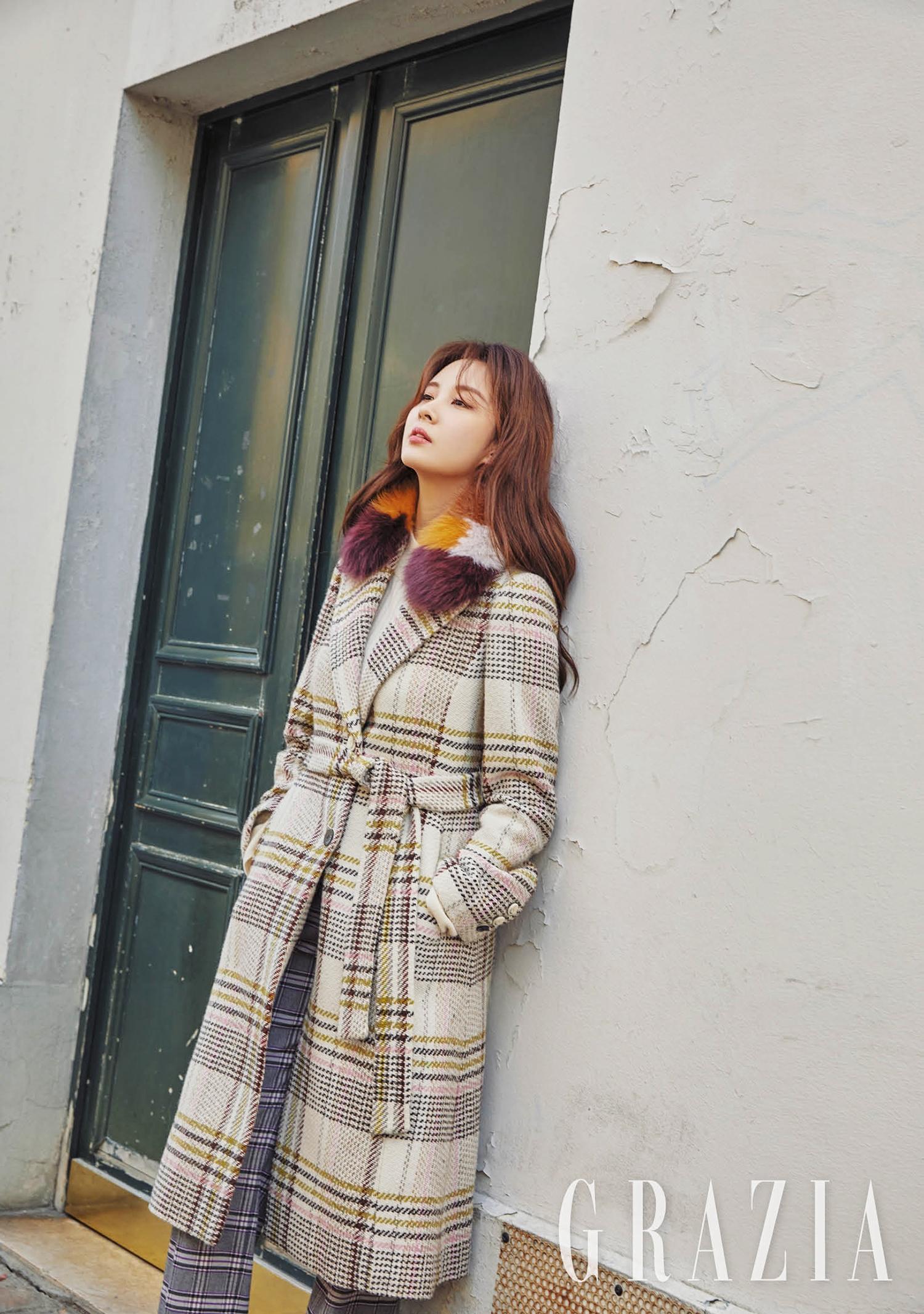 서현 그라치아 2018 11월호 화보