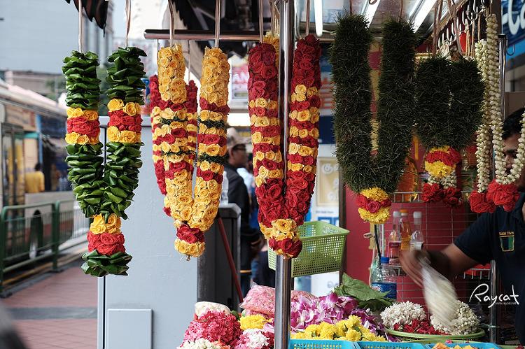 리틀인디아 꽃 목걸이 상점