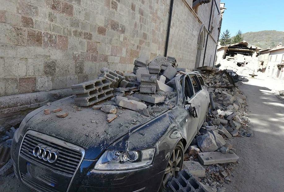 인도네시아 지진 지역 주도인 암본 쓰나미 경보 없어