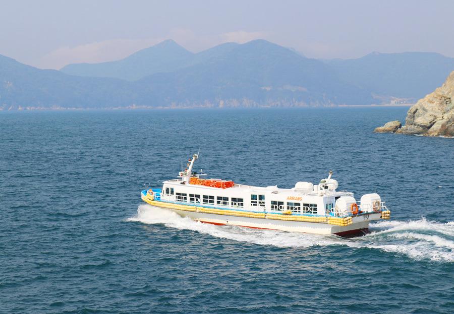 해금강유람선 타고, 외도 보타니아 다녀왔습니다!