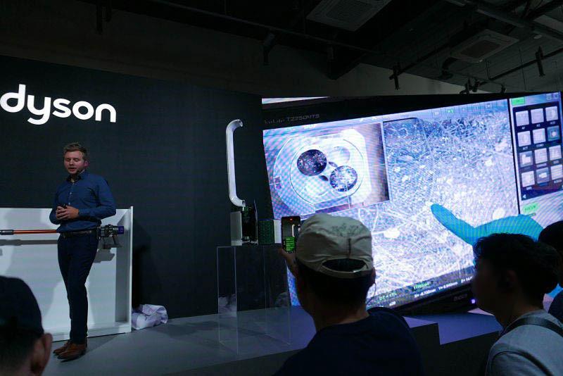 다이슨 신형 싸이클론 V10, 공기청정기 퓨어쿨 공개