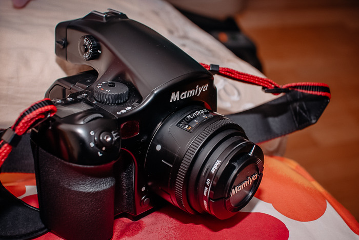 코닥 DCS Pro Back 645M 마미야 중형 디지털백 사진