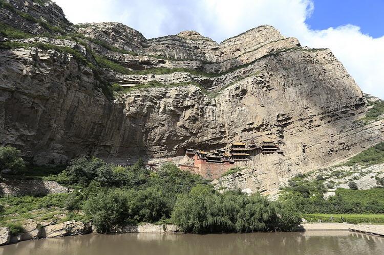 중국 현공사(Hanging Monastery of Xuan Kong Si)