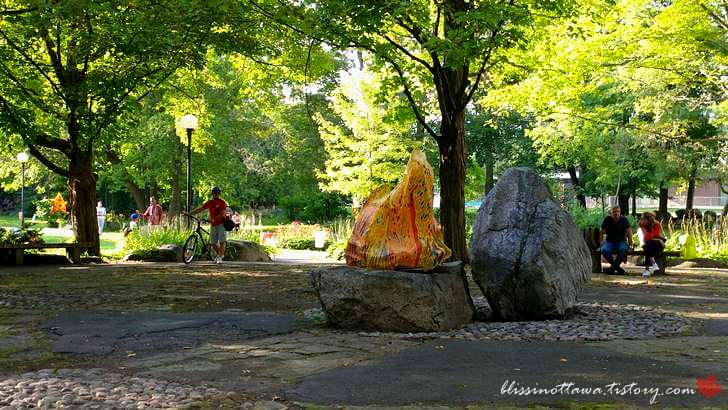 캐나다 오타와 공원입니다