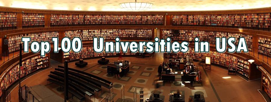Top100  Universities in USA