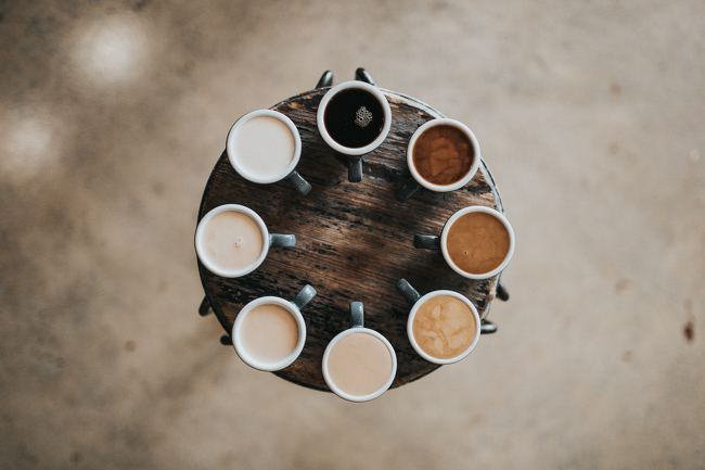 나, 디자이너, pxd와 커피