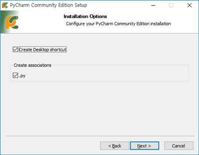 PyCharm 파이썬 설치