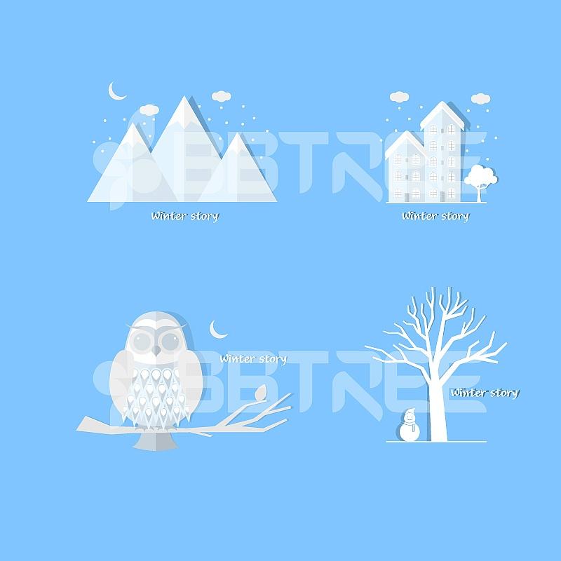 겨울 아이콘