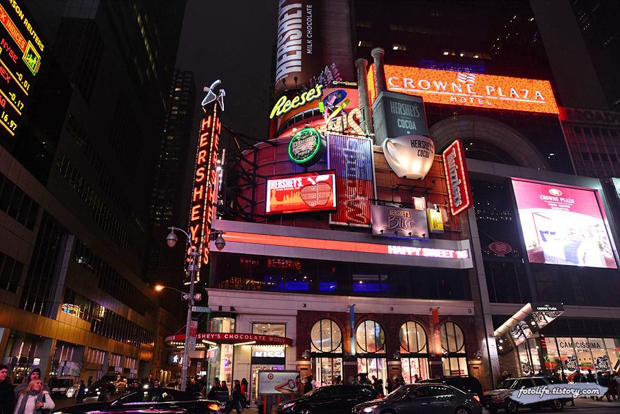 [미국/뉴욕] 뉴욕 타임스퀘어 허쉬 초콜렛 월드 (Hershey's Chocolate World)